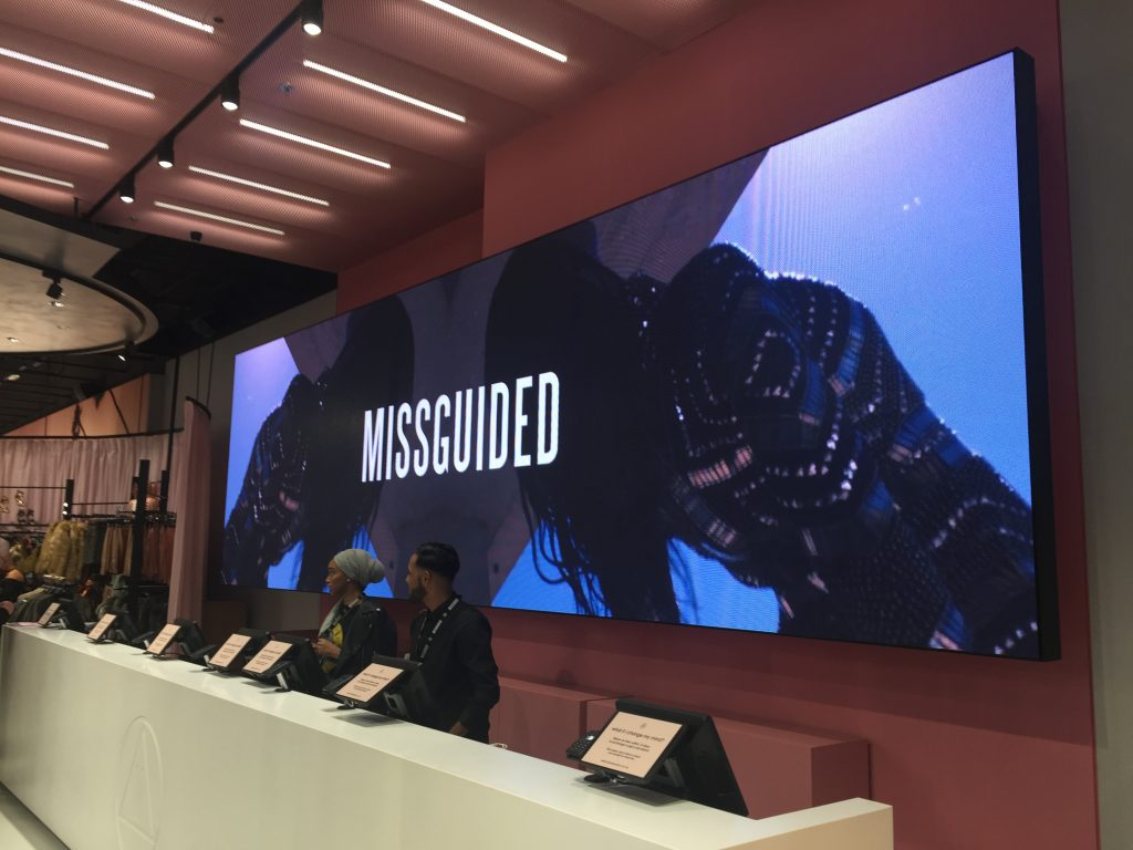 Missguided LED Wall